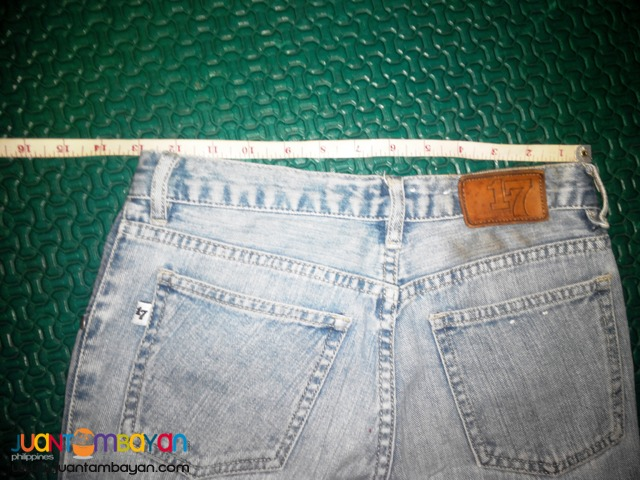 Slightly used Jeune Compagne 17 jeans