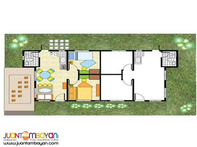 House and lot in Cavite Duplex Type Ready For Occupancy