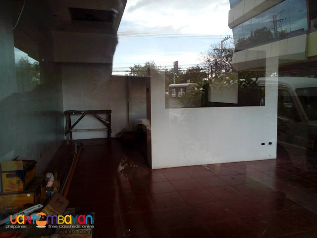For Lease Commercial Space in Manduae City Cebu - Ground Floor
