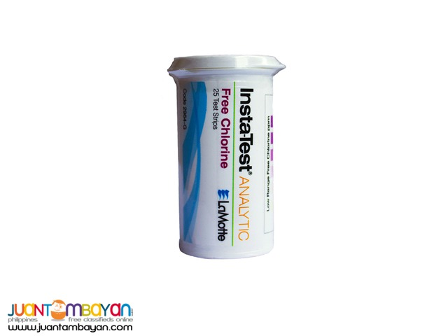 Chlorine Test Strip for Potable Water and Swimming Pools