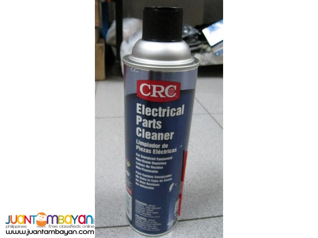 CRC Electrical Parts Liquid Cleaner, 19 oz.