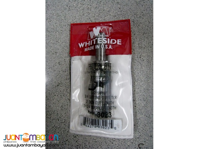 Whiteside 3023 Template Bit with Top Ball Bearing Router Bit