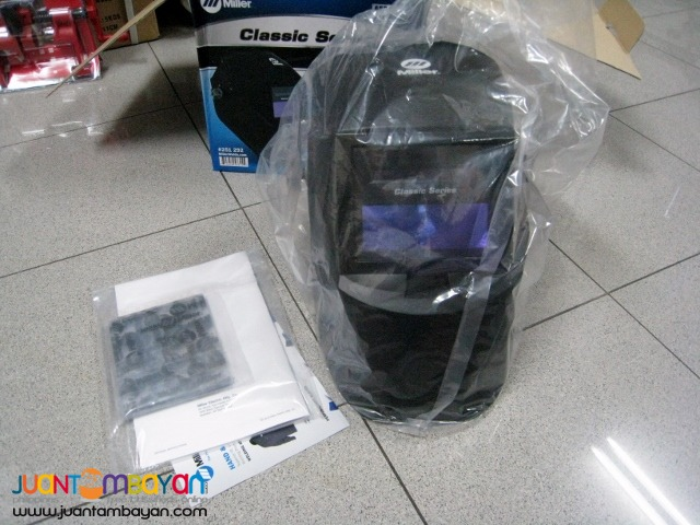 Miller Welding Helmet - Black Classic VS Lens 251292