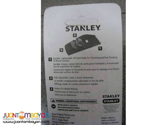 Stanley 12-101 Small Trimming Plane