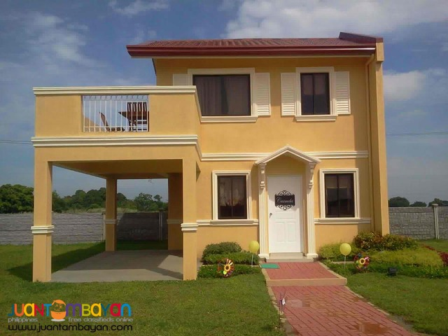 Camella Homes House and Lot Affordable