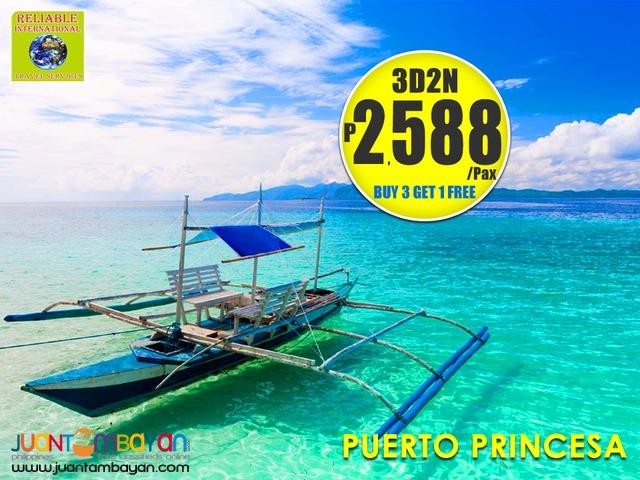 3D2N PUERTO PRINCESA PALAWAN TOUR