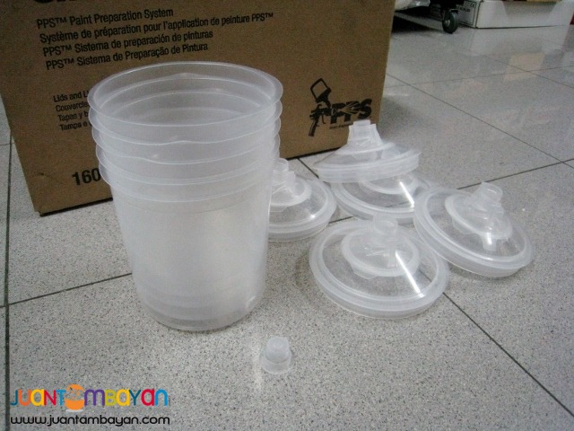 3M 16000 PPS Kit, 200 micron filters, 650 mL (Lids, Liners and Plug)