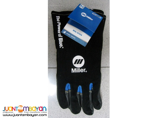 Miller 263344 MIG/Stick Welding Gloves X-Large