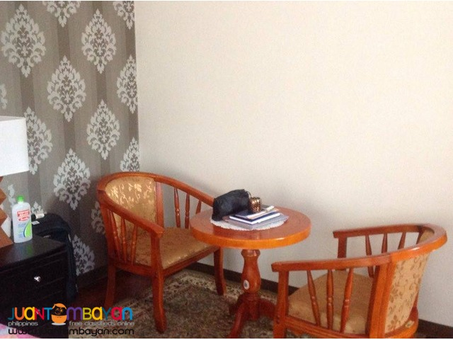 Fully furnished Overlooking 3storey house and lot for sale