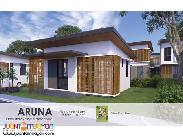 1 storey house and lot for sale in compostela cebu