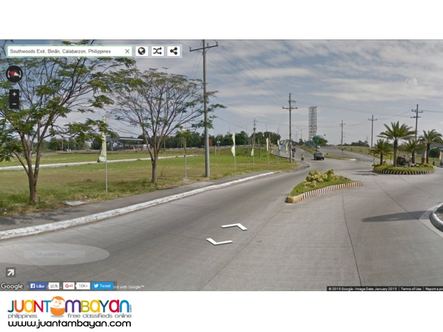Southwoods City Ecocentrum Business Park opposite Mcdo Lot for Sale