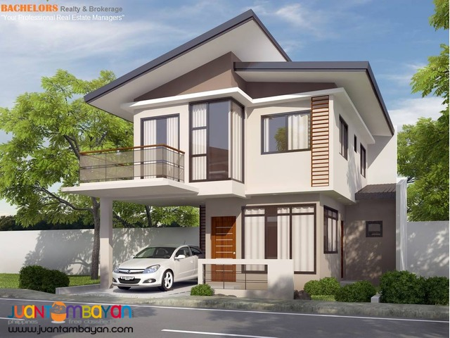 for sale single detached house and lot in talisay city cebu