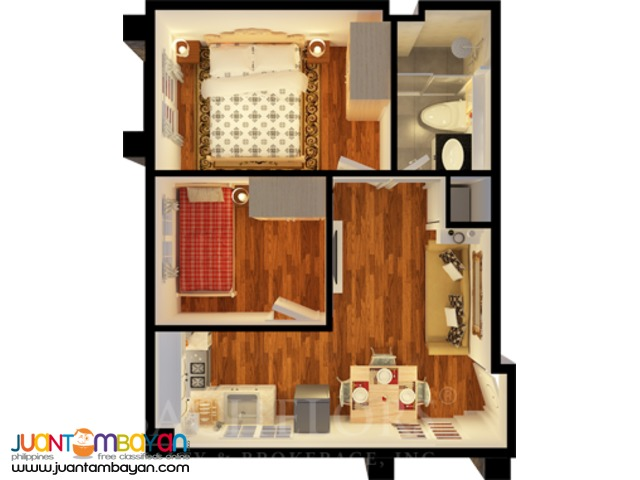 Apple One Banawa Heights Mansionette model