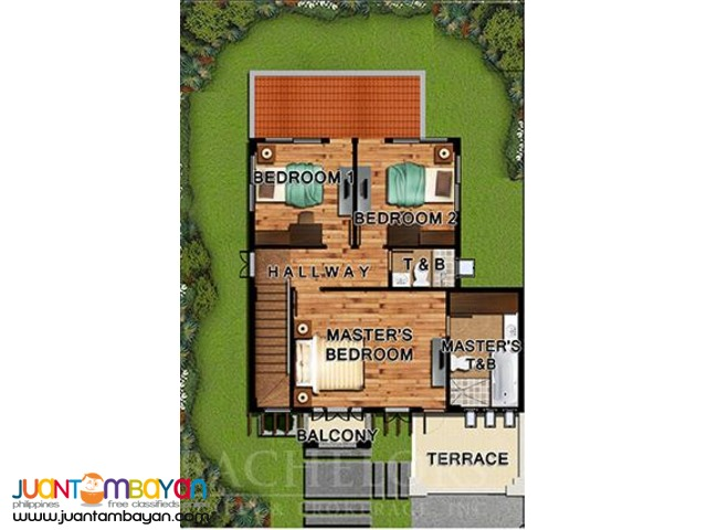 for sale house and lot in Fonte de Versailles Firenze Model