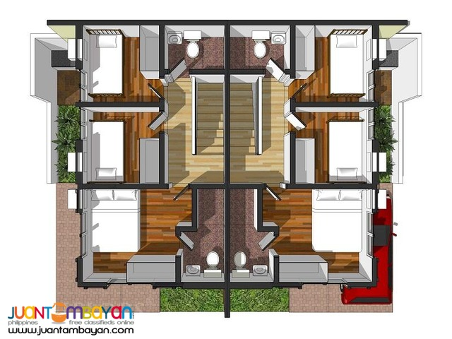 88 Summer Breeze house and lot Rose Model for sale in talamban cebu