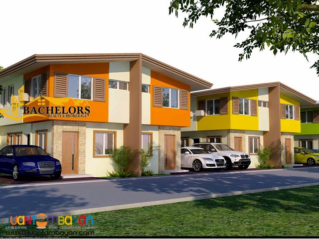 duplex house and lot esperanza model for sale in talisay city