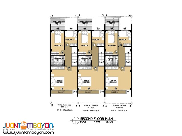 2 storey townhouse with 4 bedrooms located in liloan cebu