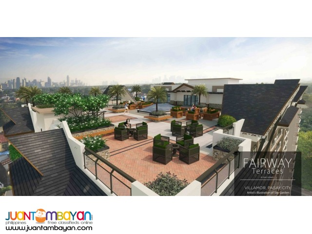 Condo near the Airport & MOA - FAIRWAY TERRACES