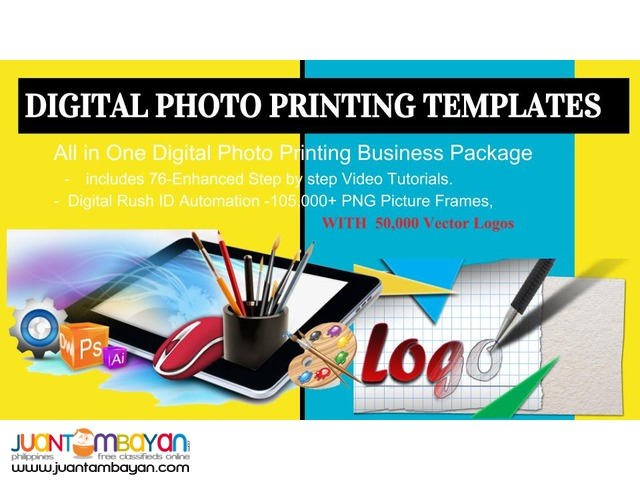 DIGITAL PHOTO PRINTING TEMPLATES for Photo Business