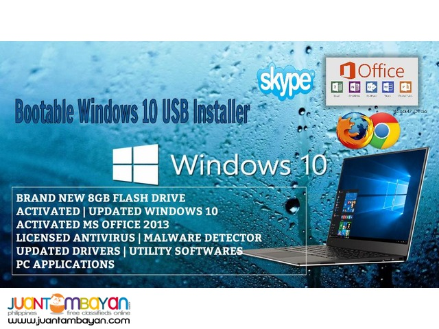 Brand New 8gb Bootable USB with Windows OS