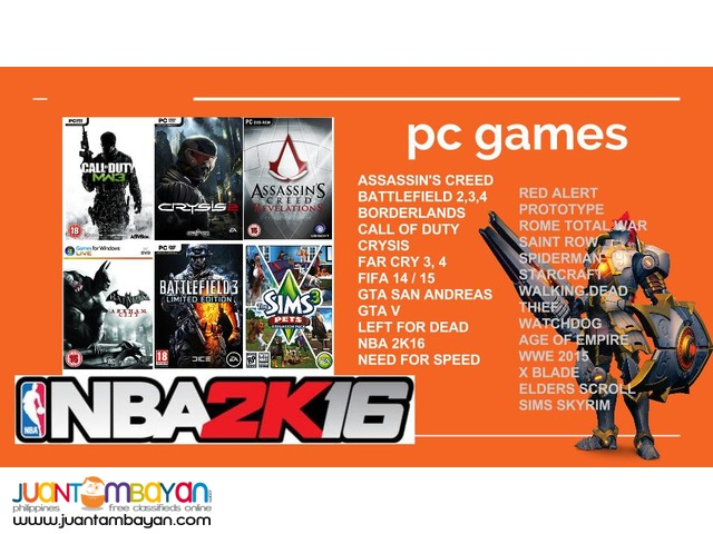 PC GAMES transfer to HDD