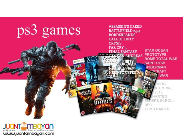 PS3 games for HDD Transfer