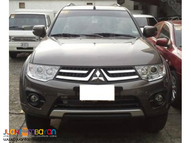 Mitsubishi Montero Sports(Mettalic-beige) for rent!