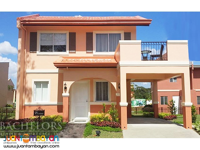 House and lot carina model camella talamban cebu