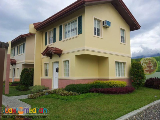 Carmela model single attached house and lot in talamban cebu