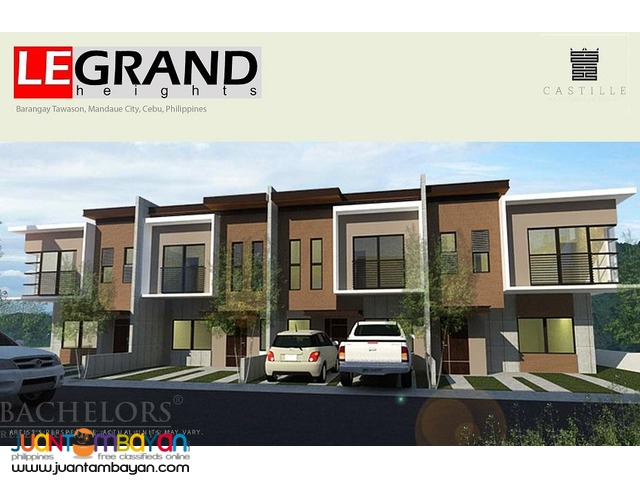 LeGrand Heights townhouse Lulu Model 3br in Mandaue city