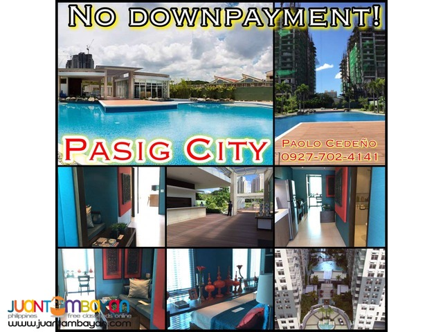 No downpayment! Kasara, 2 bedrooms, Pasig City, near Eastwood