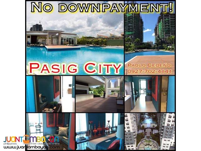 Kasara Resort Condo, near Tiendesitas, No downpayment!
