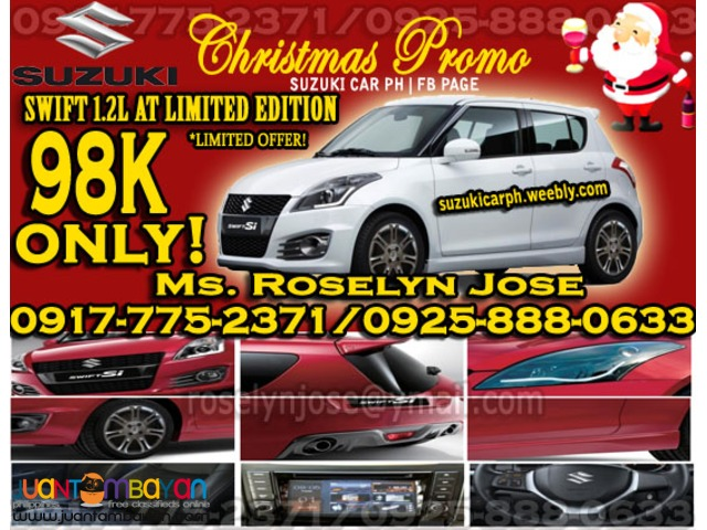 Suzuki Swift 1 2l Special Edition 2016 For Only 98k All In Promo