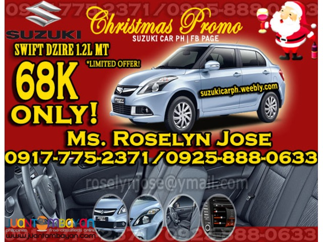 Suzuki Swift Dzire 1.2L MT Fuel Efficient Pwedeng pang UBER