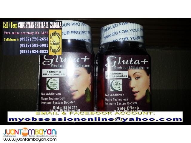 Gluta+ 60 Capsules Minimum of 3 bottles