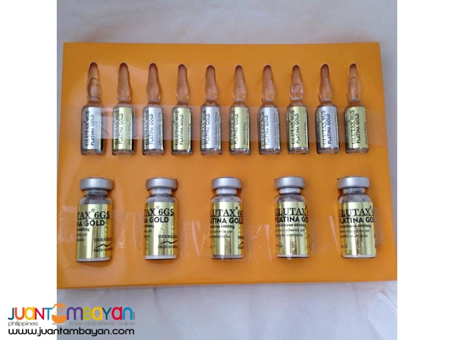 December Promo for Glutathione Glutax 6GS Platina Gold