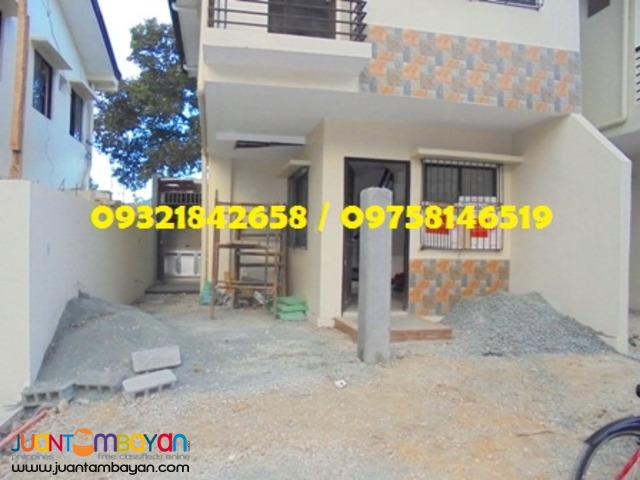 3bedroom house for sale Crystal Homes San Mateo,Rizal fully finished