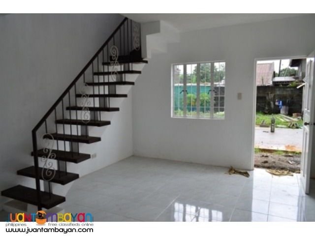Casa Blanca townhouse RFO near Quezon City