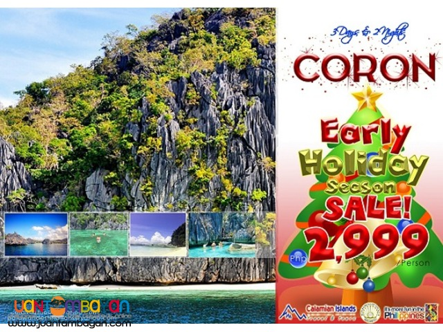 Early Christmas Promo ! Trip to Coron