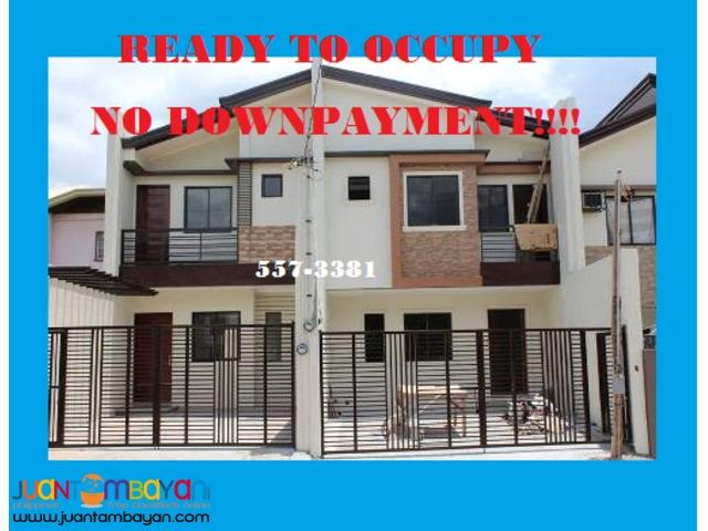 No Downpayment Duplex House at Rancho Estate Marikina
