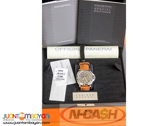 N-CASH Watch Pawnshop - Panerai PAM390 Special Edition Tobacco Dial