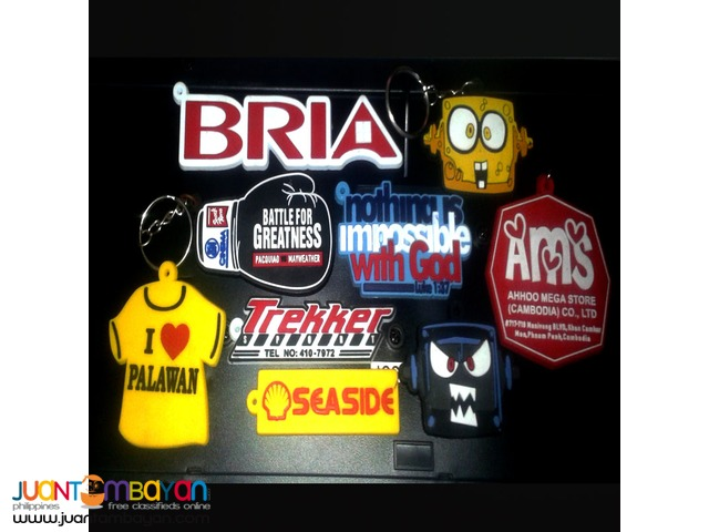 Baller, Key Chains and Rubber Patches
