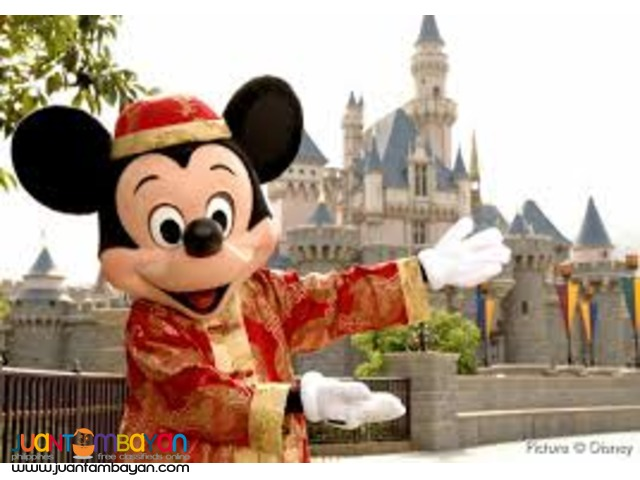 3D2N Hongkong Disneyland Family Package Tour with Airfare via Manila