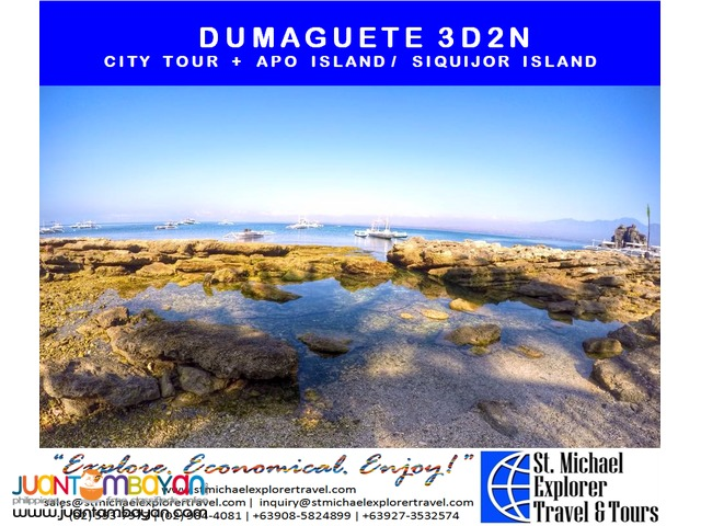 DUMAGUETE 3D2N TOUR PACKAGE