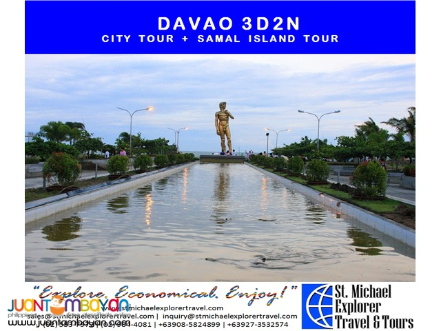 DAVAO 3D2N TOUR PACKAGE