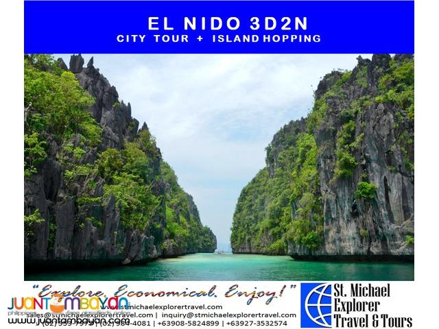 EL NIDO 3D2N TOUR PACKAGE