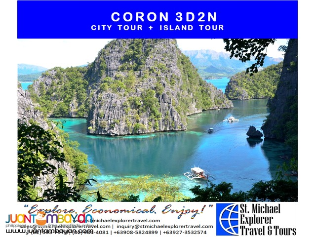 CORON 3D2N TOUR PACKAGE