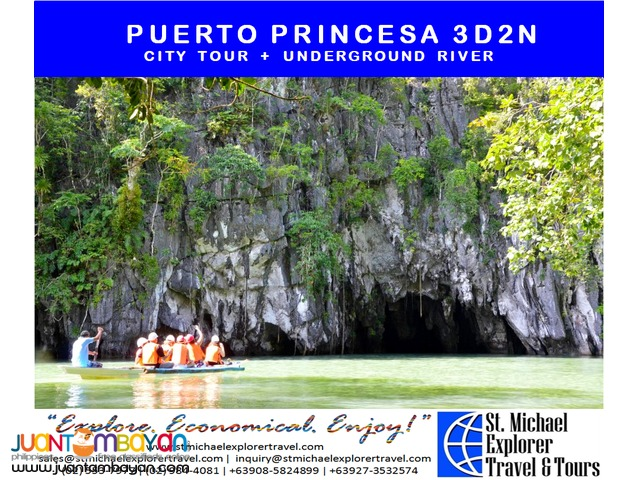 PUERTO PRINCESA 3D2N TOUR PACKAGE
