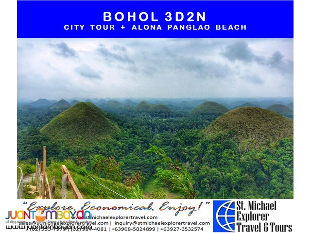 BOHOL 3D2N TOUR PACKAGE