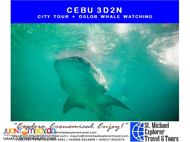 CEBU 3D2N TOUR PACKAGE